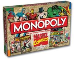 Monopoly Marvel Comics