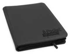 Folder Ultimate Guard 8-Pocket ZipFolio XenoSkin Grey