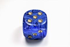 Vortex® 50mm w/pips Blue/gold d6 DV5006