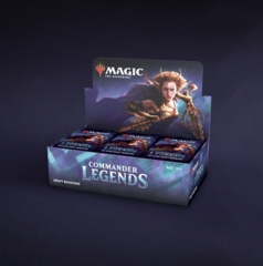 Commader Legends Booster Box