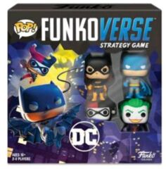 Funkoverse - DC 100 4 -Pack Expandalone Strategy Board Game