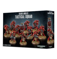 Blood Angels Tactical Squad 41-12