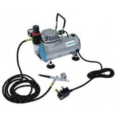 Hseng Air Compressor Inc: Hose and Airbrush