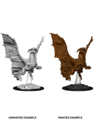 Nolzurs Miniatures Young Copper Dragon