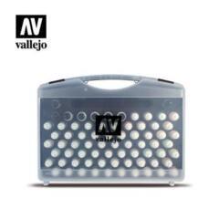 Vallejo 70175 Model Colour 72 Combinations + Brushes Plastic Case Acrylic Paint Set