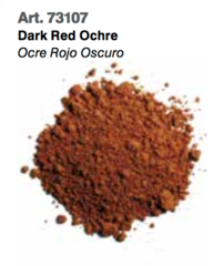 Dark Red Ochre, Vallejo Pigments Val73107