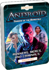 Android Shadow of the Beanstalk - Runners, Mercs, and Criminals Adversary Deck