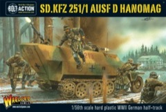 Bolt Action Sd.Kfz 251/1 Ausf D Hanomag