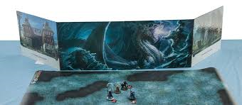 Hoard of the dragon queen DM Screen