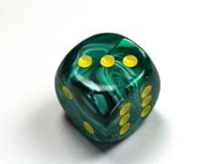 Vortex® 30mm w/pips Malachite Green/yellow d6