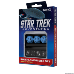 Star Trek Adventures Dice Set Sciences Blue