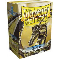 Dragon Shield Box og 100 in Gold