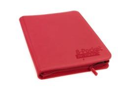 Folder Ultimate Guard 8-Pocket ZipFolio XenoSkin Red