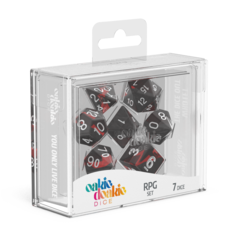 Oakie Doakie Dice RPG Set Enclave - Ruby (7)