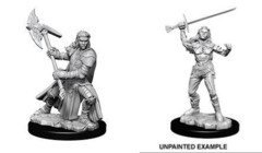 Nolzurs Marvelous Miniatures Female Half Orc Fighter