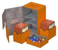 Ultimate Guard Twin Flip´n´Tray Deck Case 160+ Standard Size XenoSkin Orange