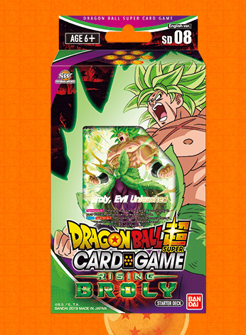 Dragon Ball Super Starter 08 Rising Broly Destroyer Kings All