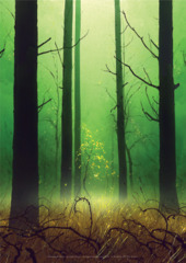 Unhinged Forest A1 Art Print