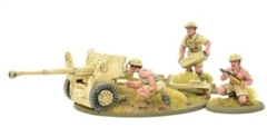Bolt Action - British 8th Army 6pdr Anti Tank Gun