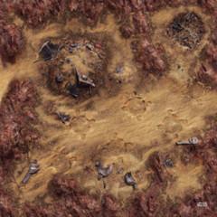 Star Wars Legion Desert Junkyard Gamemat