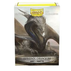Sleeves - Dragon Shield - Box 100 - MATTE Art - Sphinx Dragon