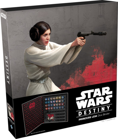 Star Wars Destiny Princess Leia Dice Binder