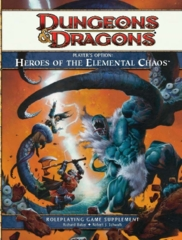Dungeons & Dragons Heroes of the Elemntal Chaos