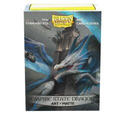 Sleeves - Dragon Shield - Box 100 - MATTE Art - Empire State Dragon