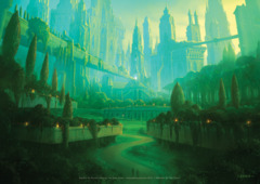 Return To Ravnica Forest A1 Art Print