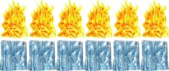 Dungeons & Dragons Spell Effects Wall of Fire & Wall of Ice Pre Painted Miniature Pack