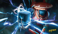 KeyForge Call of the Archons! Positron Bolt Playmat
