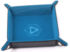 Die Hard Dice Folding Square Tray - Teal Velvet