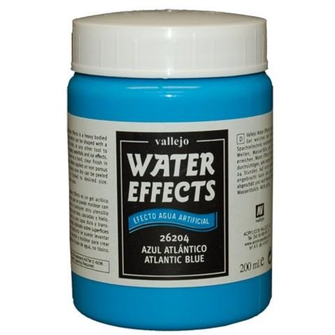 Atlantic Blue 200ml, Vallejo Wet Effects Val26204