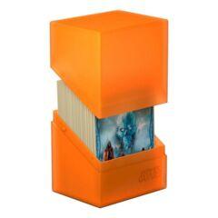 Ultimate Guard Boulder Deck Case 80+ Standard Size Poppy Topaz Deck Box