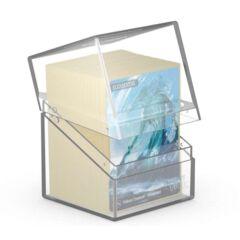 Ultimate Guard Boulder Deck Case 100+ Standard Size Clear Deck Box