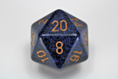 Speckled 34mm Golden Cobalt™ d20 XS2093