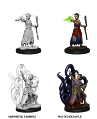Nolzurs Marvelous Unpainted Miniatures Female Human Warlock