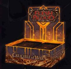 Flesh and Blood TCG Crucible of War Booster Display