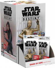 8. Star Wars Destiny Spark of Hope Booster Box