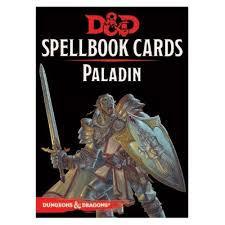 D&D Spellbook Cards Paladin Deck
