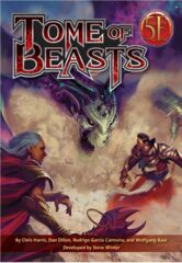 Kobold Press Tome of Beasts Hardcover for 5th Edition