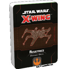 (Preorder) Star Wars X-Wing 2nd Edition Resistance Damage Deck