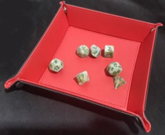 Folding Dice Tray (Red)