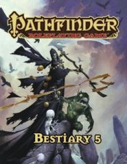 Pathfinder Roleplaying Game Bestiary 5 (Hardcover)