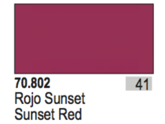 Sunset Red Val70802