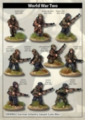 Artizan - German Infantry Squad (late war smocks)