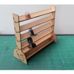 Paint Rack – Large Vertical Shelves