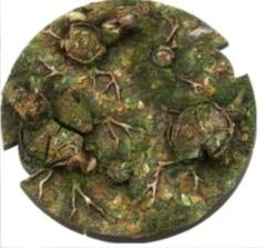 Battle Bases: (Star Wars Legion) Forest Bases, Round 100mm (1)