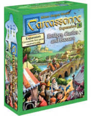 Carcassonne Expansion 8: Bridges, Castles & Bazaars