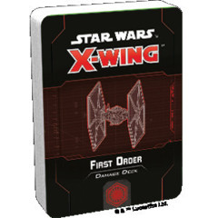 (Preorder) Star Wars X-Wing 2nd Edition First Order Damage Deck
